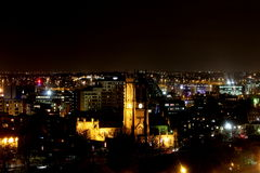 Leeds Minster at Night royalty free stock images