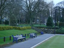 Leeds parkerar arkivbild