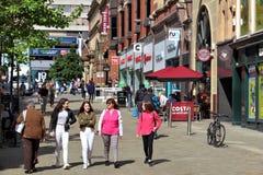 Leeds - posto di Albione Immagini Stock