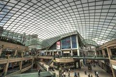 Leeds shopping centre. Royalty Free Stock Photo