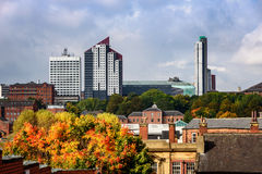 Leeds skyline Stock Photography
