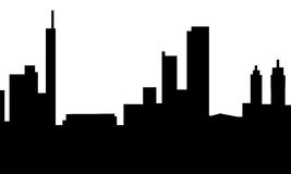 Leeds Skyline Royalty Free Stock Image