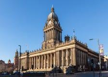 Leeds stadshus Royaltyfri Fotografi