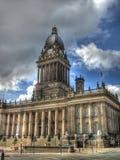 Leeds stadshus, yorkshire England Arkivbilder