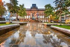 Leeds stadsmuseum som är västra - yorkshire, England Arkivbilder
