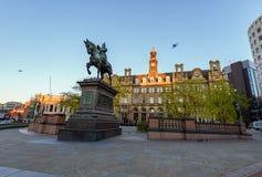 Leeds-Stadtplatz Stockfoto