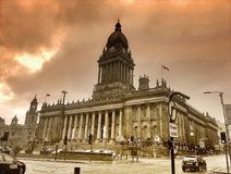 Leeds Town Hall Royalty Free Stock Image