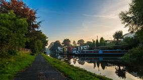 Leeds to Liverpool Canal Royalty Free Stock Photography