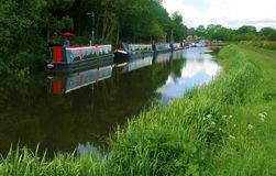 Free Leeds To Liverpool Canal Cycle Paths. Royalty Free Stock Photos - 49536828