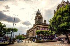 Leeds Town Hall. Stock Photography