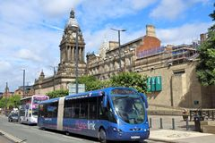 Leeds UK fotografia stock