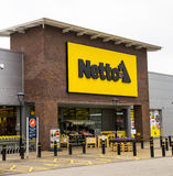 LEEDS, UK - 20 AUGUST 2015.  Netto Store in Leeds, UK Royalty Free Stock Images