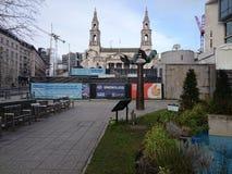 Leeds UK. Leeds city center Stock Photography