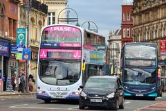 FirstGroup and Arriva Royalty Free Stock Image