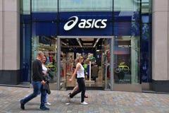 Asics fashion store Stock Image