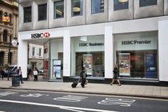 HSBC Bank Royalty Free Stock Images