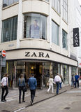 Leeds, UK - 24 July 2015.  The Zara Shop in Leeds Stock Photos