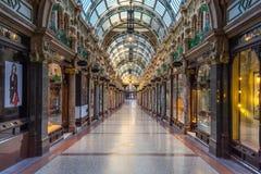 LEEDS, UK -JUNE 2, 2019: Victoria Quarter in Leeds, United Kingdom royalty free stock images