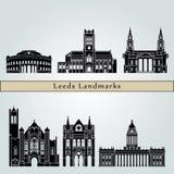 Leeds V2 Landmarks Royalty Free Stock Images
