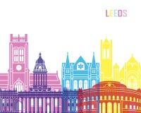 Leeds V2 skyline pop Royalty Free Stock Photography
