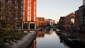 Leeds Waterfront royalty free stock image