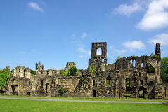 LEEDS, YORKSHIRE, UK - June 6, 2013: Kirkstall Abbey Stock Image
