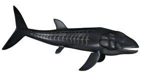 Leedsichthys prehistoric fish - 3D render Stock Images