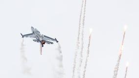LEEEUWARDEN, ΟΙ ΚΑΤΩ ΧΏΡΕΣ 10 ΙΟΥΝΊΟΥ 2016: Βέλγιο - Πολεμική Αεροπορία Γ Στοκ Φωτογραφία
