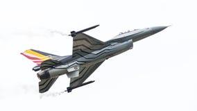 LEEEUWARDEN, ΟΙ ΚΑΤΩ ΧΏΡΕΣ 10 ΙΟΥΝΊΟΥ 2016: Βέλγιο - Πολεμική Αεροπορία Γ Στοκ Εικόνες
