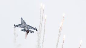 LEEEUWARDEN, ΟΙ ΚΑΤΩ ΧΏΡΕΣ 10 ΙΟΥΝΊΟΥ 2016: Βέλγιο - Πολεμική Αεροπορία Γ Στοκ Εικόνα