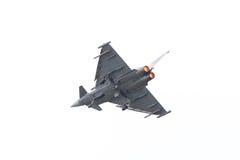 LEEEUWARDEN, ΟΙ ΚΑΤΩ ΧΏΡΕΣ - 11 ΙΟΥΝΊΟΥ: Ισπανική Πολεμική Αεροπορία Eurofig Στοκ Φωτογραφία