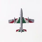 LEEEUWARDEN, ΟΙ ΚΑΤΩ ΧΏΡΕΣ 11 ΙΟΥΝΊΟΥ 2016: Ιταλικό aerobatic τσάι Στοκ εικόνα με δικαίωμα ελεύθερης χρήσης