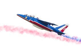 LEEEUWARDEN, ΟΙ ΚΑΤΩ ΧΏΡΕΣ 11 ΙΟΥΝΊΟΥ 2016: Πιλότοι Patrouille Στοκ Φωτογραφίες
