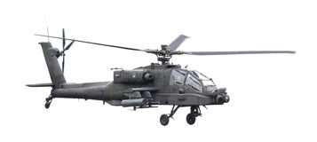 LEEEUWARDEN, ΟΙ ΚΑΤΩ ΧΏΡΕΣ - 11 ΙΟΥΝΊΟΥ 2016: Boeing ah-64 Apache Στοκ εικόνα με δικαίωμα ελεύθερης χρήσης
