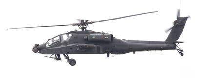 LEEEUWARDEN, ΟΙ ΚΑΤΩ ΧΏΡΕΣ - 11 ΙΟΥΝΊΟΥ 2016: Boeing ah-64 Apache Στοκ Φωτογραφία