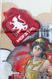 Αστική τέχνη οδών στο leeeuwarden, Κάτω Χώρες Στοκ φωτογραφία με δικαίωμα ελεύθερης χρήσης