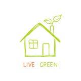 Leef groen! Stock Afbeelding
