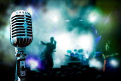 Leef muziek royalty-vrije stock fotografie