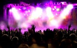 Leef muziekachtergrond royalty-vrije stock foto