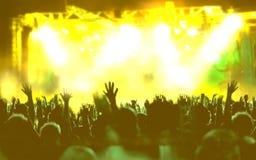 Leef muziekachtergrond royalty-vrije stock afbeeldingen