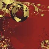 Leef planeet de Aarde vector illustratie