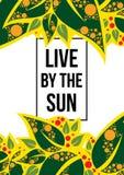 Leef van de zon Stock Afbeelding