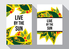 Leef van de zon Stock Foto