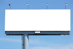 Leeg aanplakbord Stock Foto's