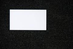 Leeg adreskaartje Royalty-vrije Stock Afbeelding