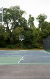 Leeg basketbalhof Royalty-vrije Stock Fotografie