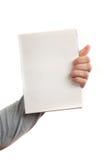 Leeg boek Stock Foto