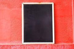 Leeg bord op de straat Copyspace Stock Afbeeldingen