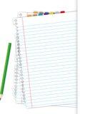 Leeg document Stock Afbeeldingen