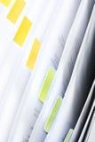 Leeg Dossier Stock Foto's